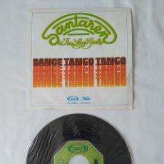 Discos de vinilo: SANTAREN & THE LOVIN GIRLS,DANCE TANGO DANCE SINGLE 02.1294/4. Lote 267384759