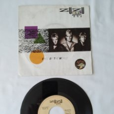 Discos de vinilo: ZUZU SHARKS,EYES OF THE WORLD, SINGLE DE ESPAÑA. Lote 267385944