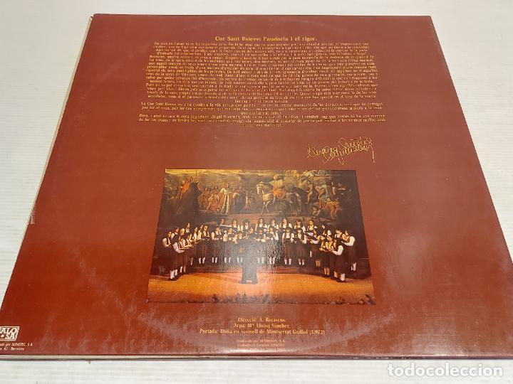 Discos de vinilo: COR SANT ESTEVE / A CEREMONY OF CAROLS / CANÇONS POPULARS CATALANES / LP-GATEFOLD / MBC. ***/*** - Foto 3 - 267392974