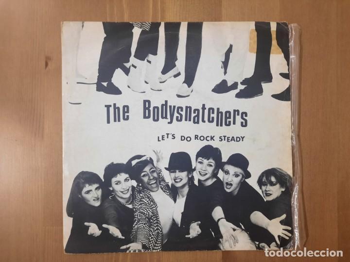 THE BODYSNATCHERS - LET'S DO ROCK STEADY - SINGLE SPAIN SKA 1980 PORTADA UNICA RARO (Música - Discos - Singles Vinilo - Reggae - Ska)