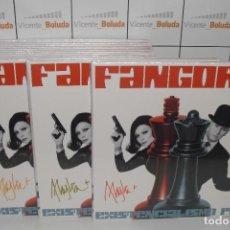 Discos de vinil: FANGORIA EXISTENCIALISMO POP (EDICIÓN LIMITADA) (CD + LP-VINILO BLANCO +LÁMINA FIRMADA) ENVIÓ GRATIS. Lote 267426329