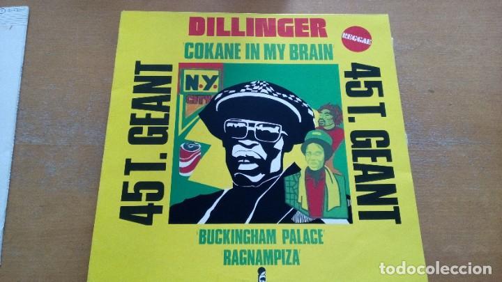 DILLINGER COKANE IN MY BRAIN MAXI VINILO 1977 (Música - Discos de Vinilo - Maxi Singles - Reggae - Ska)