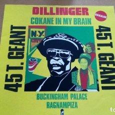 Discos de vinilo: DILLINGER COKANE IN MY BRAIN MAXI VINILO 1977. Lote 267441404