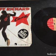 """Discos de vinilo: CLIFF RICHARD CARRIE - 12"""" ALEMANIA. Lote 267451649"""