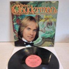 Discos de vinilo: RICHARD CLAYDERMAN / RONDO PARA UN NIÑO / LP - DELPHINE-1981 / MBC. ***/***. Lote 267451989