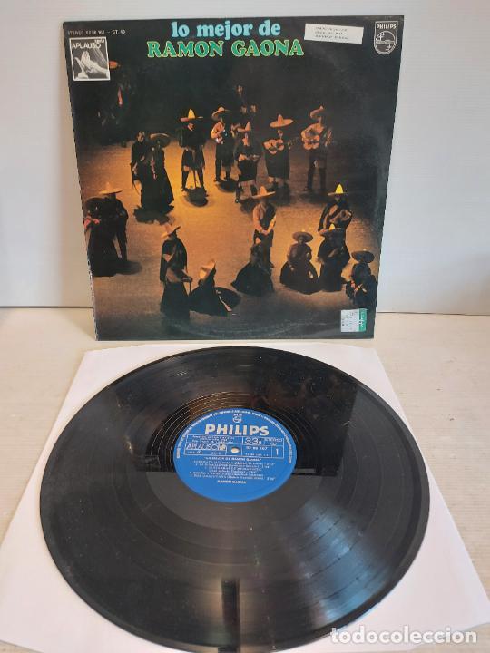 LO MEJOR DE RAMON GAONA / LP - PHILIPS-1976 / MBC. ***/*** (Música - Discos - LP Vinilo - Grupos y Solistas de latinoamérica)