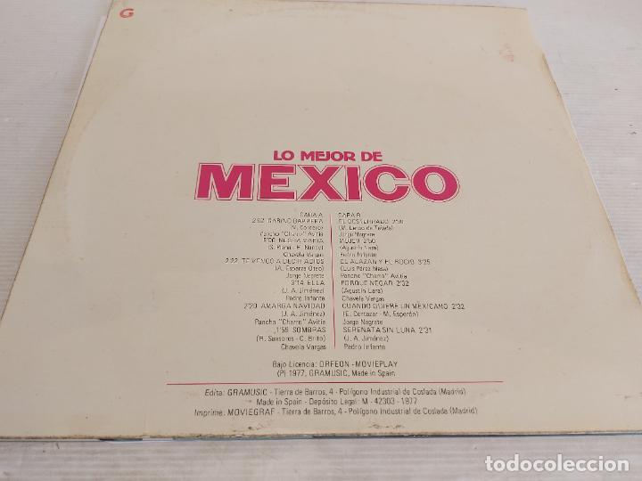 Discos de vinilo: LO MEJOR DE MEXICO / VARIOS ARTISTAS / LP - GRAMUSIC-1977 / MBC. ***/*** - Foto 2 - 267453069