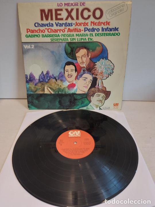 LO MEJOR DE MEXICO / VARIOS ARTISTAS / LP - GRAMUSIC-1977 / MBC. ***/*** (Música - Discos - LP Vinilo - Grupos y Solistas de latinoamérica)