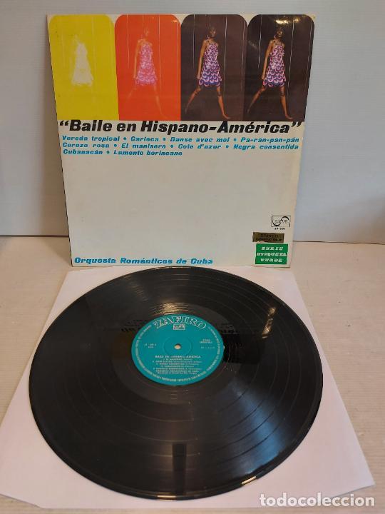 ORQUESTA ROMÁNTICOS DE CUBA / BAILE EN HISPANO-AMÉRICA / LP-ZAFIRO-1969 / MBC. ***/*** (Música - Discos - LP Vinilo - Grupos y Solistas de latinoamérica)