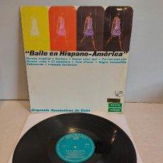 Discos de vinilo: ORQUESTA ROMÁNTICOS DE CUBA / BAILE EN HISPANO-AMÉRICA / LP-ZAFIRO-1969 / MBC. ***/***. Lote 267453704