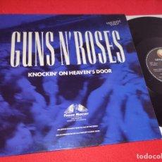 Dischi in vinile: GUNS N' ROSES KNOCKIN ON HEAVEN'S DOOR (LP)/ LIVE 12'' MX 1992 GEFFEN ESPAÑA SPAIN. Lote 267453979
