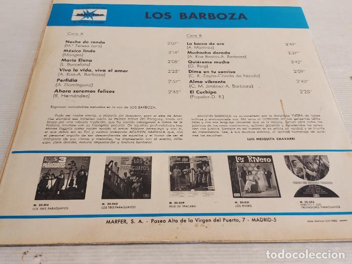 Discos de vinilo: LOS BARBOZA / LP - MARFER-1969 / MBC. ***/*** - Foto 2 - 267454534