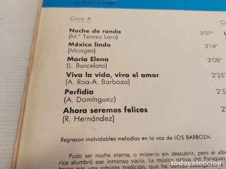 Discos de vinilo: LOS BARBOZA / LP - MARFER-1969 / MBC. ***/*** - Foto 3 - 267454534