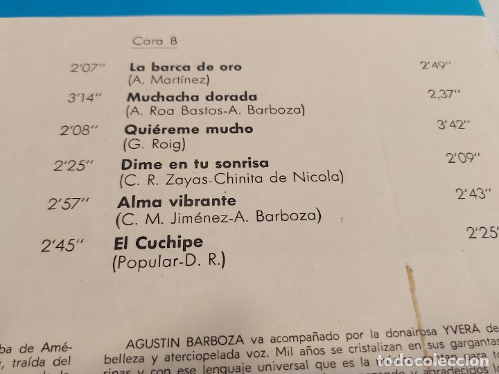 Discos de vinilo: LOS BARBOZA / LP - MARFER-1969 / MBC. ***/*** - Foto 4 - 267454534