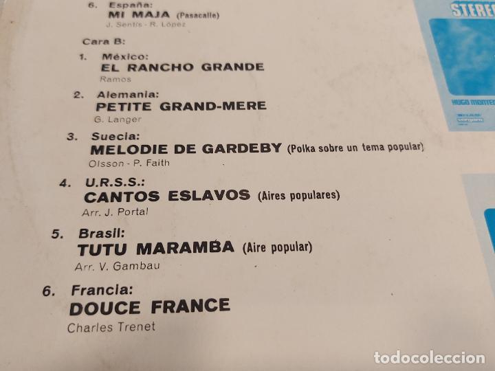 Discos de vinilo: VIAJE SIN FRONTERAS CON EL MANDOLIN CLUB DE PARIS / LP - VERGARA-1970 / MBC. ***/*** - Foto 4 - 267455039
