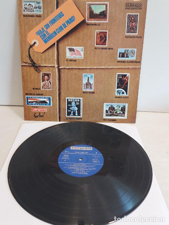 VIAJE SIN FRONTERAS CON EL MANDOLIN CLUB DE PARIS / LP - VERGARA-1970 / MBC. ***/*** (Música - Discos - LP Vinilo - Orquestas)