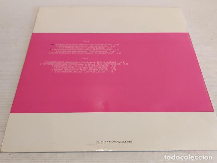 Discos de vinilo: TRIO CALAVERAS-TRIO LOS CANGREJOS-LOS TRES GALLOS / LP-COBRA-1978 / MBC. ***/*** - Foto 2 - 267455454