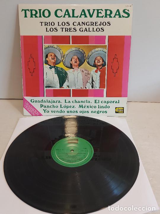 TRIO CALAVERAS-TRIO LOS CANGREJOS-LOS TRES GALLOS / LP-COBRA-1978 / MBC. ***/*** (Música - Discos - LP Vinilo - Grupos y Solistas de latinoamérica)