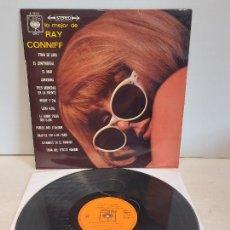 Discos de vinilo: LO MEJOR DE RAY CONNIFF / ORQUESTA Y COROS / LP-CBS-1967 / MBC. ***/***. Lote 267455979