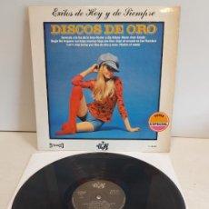 Discos de vinilo: ORQUESTA 101 STRINGS / DISCOS DE ORO / EXITOS DE HOY Y DE SIEMPRE / LP-YUPI-1971 / MBC. ***/***. Lote 267456629