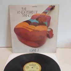 Discos de vinilo: SPAIN !! THE KNIGHTSBRIDGE STRINGS / LP - MONUMENT-1968 / MBC. ***/***. Lote 267456994