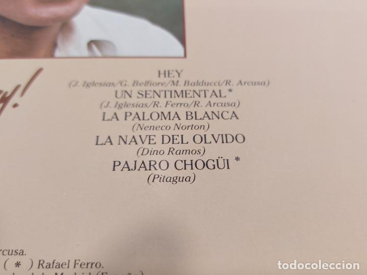 Discos de vinilo: JULIO IGLESIAS / HEY / LP - CBS-1980 / MBC. ***/*** - Foto 4 - 267457349