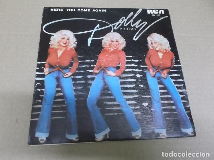 DOLLY PARTON (SINGLE) HERE YOU COME AGAIN AÑO 1978 – PROMOCIONAL (Música - Discos - Singles Vinilo - Country y Folk)