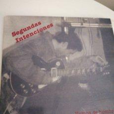 Discos de vinilo: LP DISCO VINILO SEGUNDAS INTENCIONES VAMOS DE HOMBRES. Lote 267459974