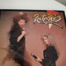 Discos de vinilo: LP DISCO VINILO LOS RATONES DALE CAÑA. Lote 267460074