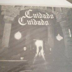 Discos de vinilo: LP DISCO VINILO CUIDADO CUIDADO MIEDO A LA OSCURIDAD. Lote 267460434