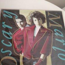 Discos de vinilo: LP DISCO VINILO OSCAR Y MARILO. Lote 267460514