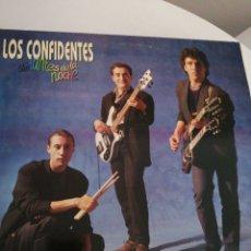 Discos de vinilo: LP DISCO VINILO LOS CONFIDENTES AMANTES DE LA NOCHE. Lote 267460764