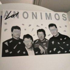 Discos de vinilo: LP DISCO VINILO LOS ANÓNIMOS FUERA DEL ANONIMATO. Lote 267461334