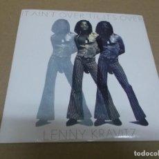 Discos de vinil: LENNY KRAVITZ (SINGLE) IT AIN'T OVER 'TIL IT'S OVER AÑO 1991. Lote 267461899