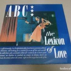Discos de vinilo: ABC (LP) THE LEXICON OF LOVE AÑO 1982. Lote 267466104