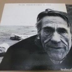 Discos de vinilo: THE CURE (LP) STANDING ON A BEACH AÑO 1986 – PORTADA ABIERTA - ENCARTE CON LETRAS. Lote 267466249