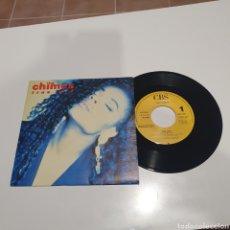 Discos de vinilo: THE CHIMES - TRUE LOVE, PROMO, DE UNA SOLA CARA, CBS, ARIC 2503, 1990.. Lote 267470654