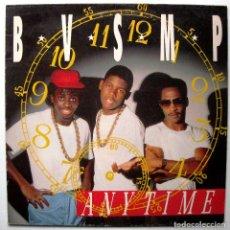 Discos de vinilo: B.V.S.M.P. - ANYTIME - MAXI BOY RECORDS 1988 BPY. Lote 267480229