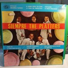 Discos de vinilo: SIEMPRE THE PLATTERS. Lote 267484254
