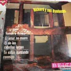 Discos de vinilo: EL BARBERILLO DE LAVAPIES (SELECCION) BANDA DE LA ACADEMIA GENERAL MILITAR (SINGLE 1961).VG+. Lote 267486064