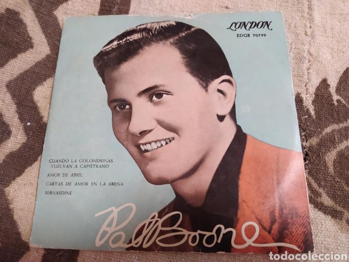 PAT BOONE–WHEN THE SWALLOWS COME BACK TO CAPISTRANO. EP 1958. (Música - Discos de Vinilo - EPs - Pop - Rock Internacional de los 50 y 60)