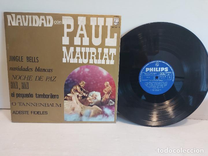 NAVIDAD CON PAUL MAURIAT / LP - PHILIPS-1967 / MBC. ***/*** (Música - Discos - LP Vinilo - Orquestas)