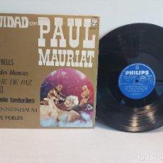 Discos de vinilo: NAVIDAD CON PAUL MAURIAT / LP - PHILIPS-1967 / MBC. ***/***. Lote 267497214