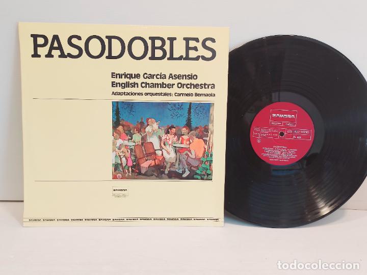 PASODOBLES / E. GARCIA ASENSIO / CHAMBER ORCHESTRA / LP - ZAMBRA-1978 / MBC. ***/*** (Música - Discos - LP Vinilo - Flamenco, Canción española y Cuplé)