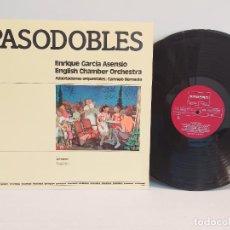 Discos de vinilo: PASODOBLES / E. GARCIA ASENSIO / CHAMBER ORCHESTRA / LP - ZAMBRA-1978 / MBC. ***/***. Lote 267500369