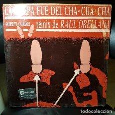 Discos de vinilo: GABINETE CALIGARI LA CULPA FUE DEL CHA CHACHA (RAUL ORELLANA REMIX) VINILO 12 MAXI 45 RPM SINGLE EMI. Lote 267501319