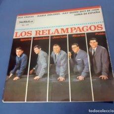 Discos de vinilo: SINGLE DEL GRUPO ESPAÑOL LOS RELAMPAGOS. Lote 267511104