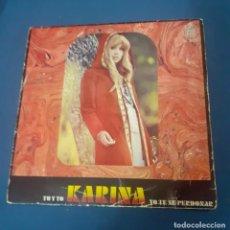 Discos de vinilo: DISCO SINGLE DE KARINA TU Y YO. ENVIO CERTIFICADO GRATUITO. Lote 267512174