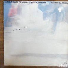 Discos de vinilo: CHARLIE MARIANO & THE KARNATAKA COLLEGE OF PERCUSSION JYOTHI. Lote 267540169