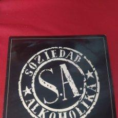 Discos de vinilo: SOZIEDAD ALKOHOLIKA S.A. Lote 267547539
